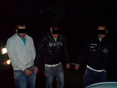 Fülesd - Négy embercsempészt fogtak el