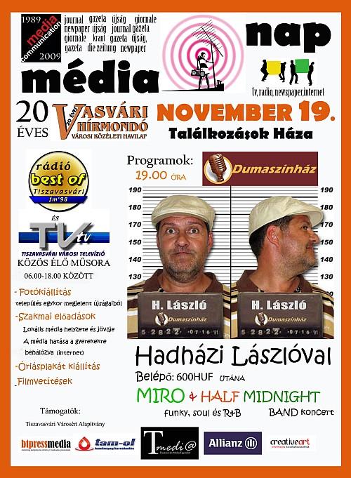 Dumaszínház a Média Napon Tiszavasváriban