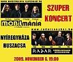 Mobilmánia és Radar koncert a BuSzaCsában