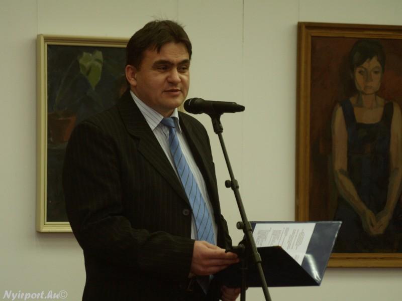 Váci András festőművész kiállítása