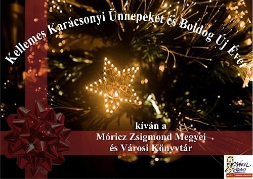 Móricz Zsigmond Könyvtár ünnepi nyitvatartása