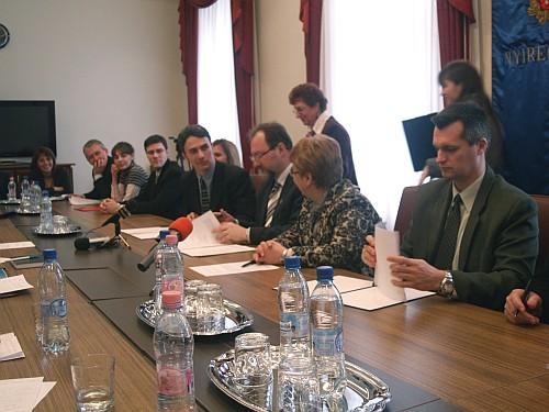 Együttműködési megállapodás Nyíregyháza turizmusának fejlesztése érdekében