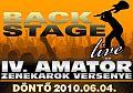 IV. Backstage Live - döntő