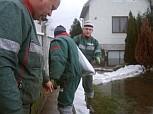 Nyíregyházán másodfokú belvízvédelmi készültséget rendeltek el