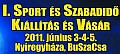 Sport és Szabadidő Kiállítás és Vásár Nyíregyházán