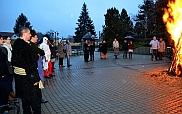 Máglyán űzték el a telet Tiszavasváriban