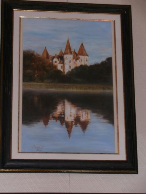 Tiszadobi Andrássy kastély a Holtági tükröződésben