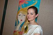 Molnár Móni selyemfestő kiállítása
