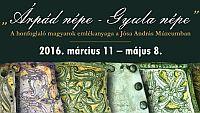 A honfoglaló magyarok emlékanyaga - régészeti kiállítás Nyíregyházán
