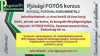 Ifjúsági Fotós Kurzus - PegazusTV