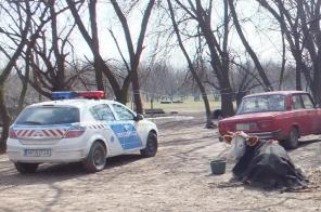 Csontsovány állatokat mentettek a rendőrök Újfehértón