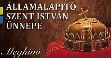 Augusztus 20-i ünnepség Nyíregyházán - Államalapító Szent István Ünnepe