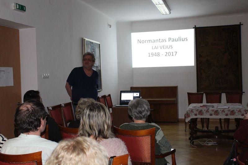 Lai Véjus ( Szabad Szél ) - A Jósa András Múzeum Baráti Körének megemlékezése Normantas Pauliusra