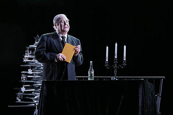 Gálvölgyi János a Móricz Zsigmond Színház színpadán