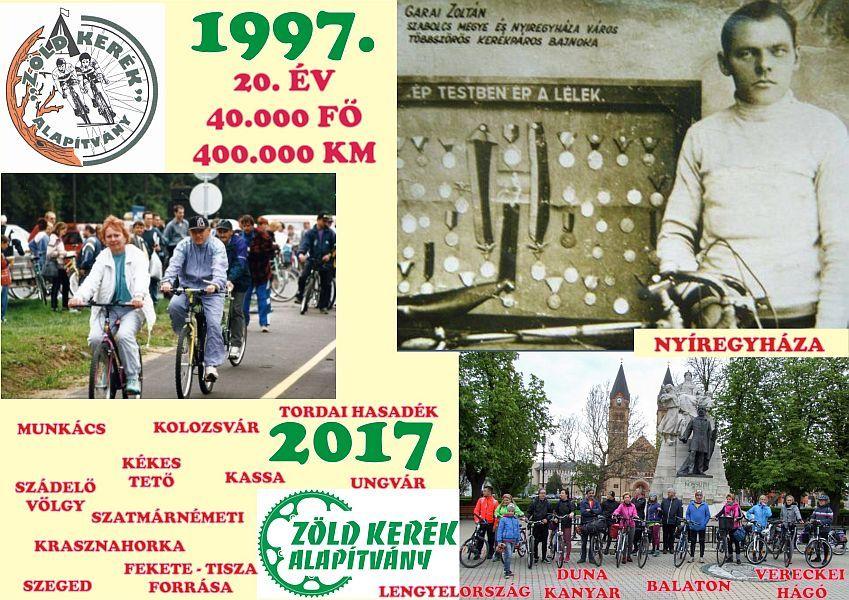 20. éve gurul a Zöld Kerék