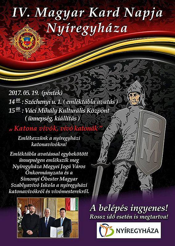 Városnapok és IV. Magyar Kard Napja Nyíregyházán