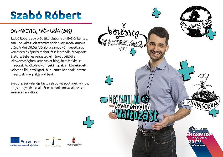 Nyíregyházi fiatal az Erasmus+ program arcai között