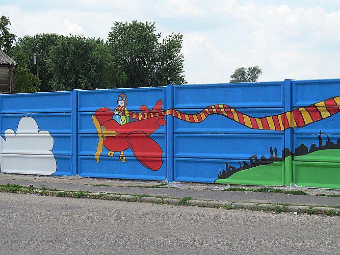 Graffitik a Vásártéren