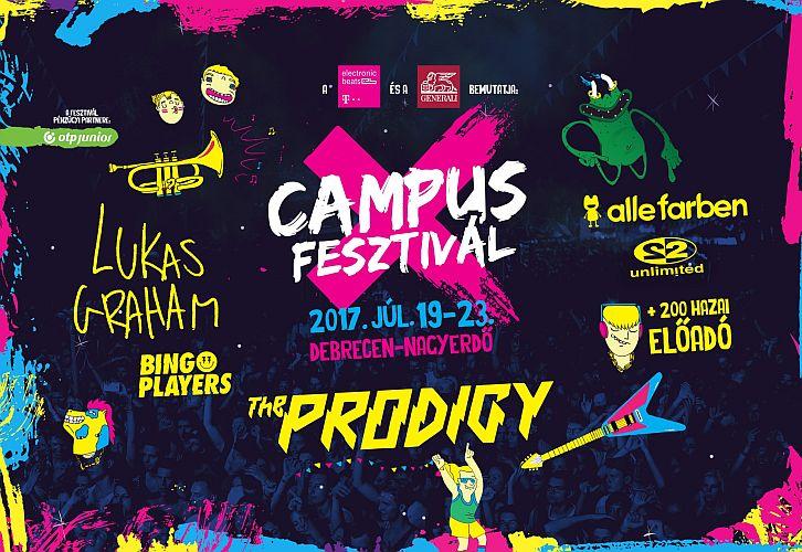 Campus Fesztivál Hőségriadó és Tankcsapda