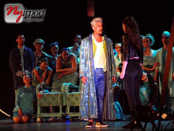 A Gyöngyhajú lány című Omega musical a Szabadtéri Színpadon