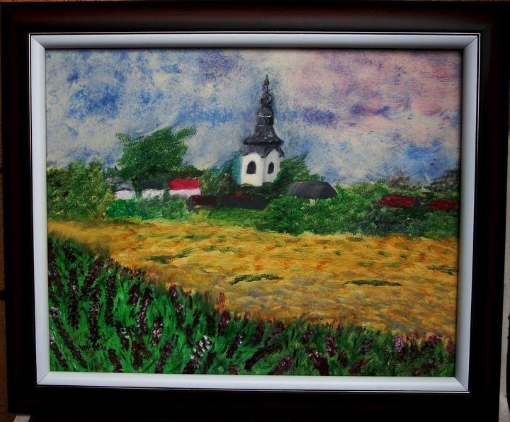 Kalocsai László festménykiállítása