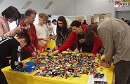 Űrbéli LEGO építés Nyíregyházán