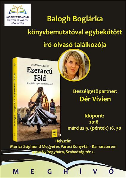 Könyvbemutató a Móricz Zsigmond Könyvtárban